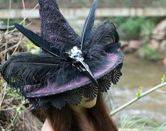 Raven Queen Witch Hat