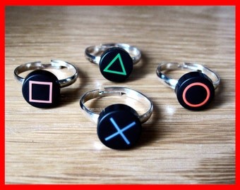 Playstation PS2 PS3 PS4 Button Ring