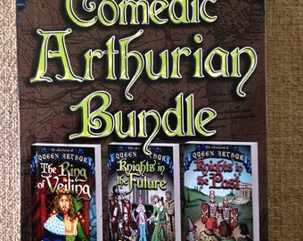Official Signed Copy/Comedic Arthurian Bundle