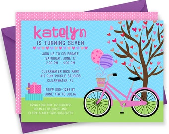 Bike Invitations, Bike Birthday Invite, Bike Invite, Bicycle Invitation, Bicycle Invitations,Bicycle Invite,Bike Invitation,Bike Party | 412