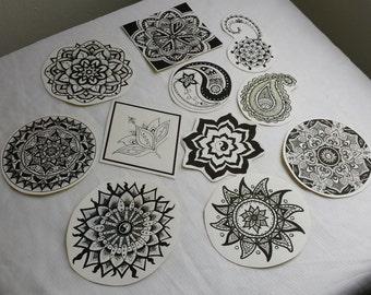 Mandala zen stickers