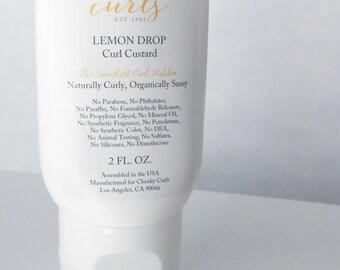Curl Custard 2 oz. - Curl Gel, Styling Product, Gel, Natural Product, Organic Ingredients, Curly, Hair Product, Hair Gel, Curls