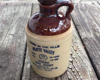 McCormick Platte Valley Corn Whiskey Stoneware Jug