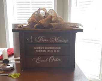Customized wedding card boxes