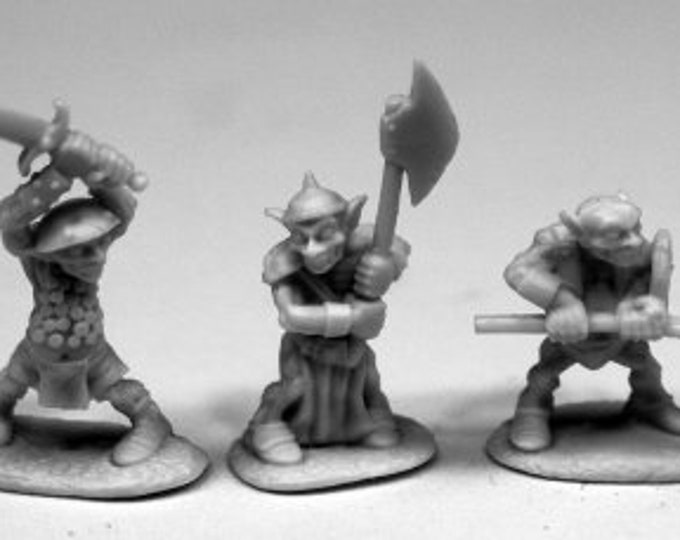 Goblin Warriors (6) - 77444 - Reaper Miniatures