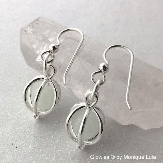 Glowing Orb Earrings Glow Jewelry