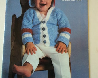 Baby Talk Coats & Clark Book No. 320