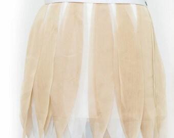 Laser Cut Petal Skirt