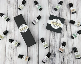 Organic Set Of 3 or 6 • Therapeutic Grade • Full Size • Essential Oils • Your Choice • Organic • Non-GMO Aromatherapy • Essential Set