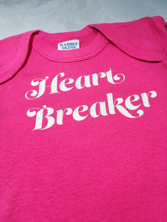 Heart Breaker Baby Romper