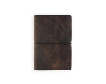 Nuuna Voyager Leather Journal - Rustic Brown