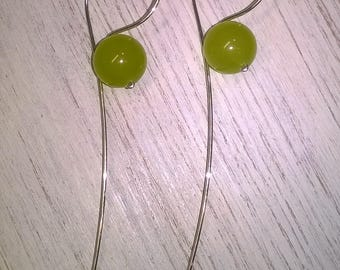 Jade Design Earrings