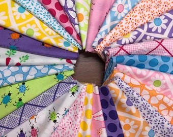Frolic by Me & My Sister Designs for Moda  fat quarter bundle (25)