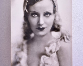"""Lilian Harvey - 20s and 30s singer and actress - original vintage portrait photo - Edition """"Ross"""""""