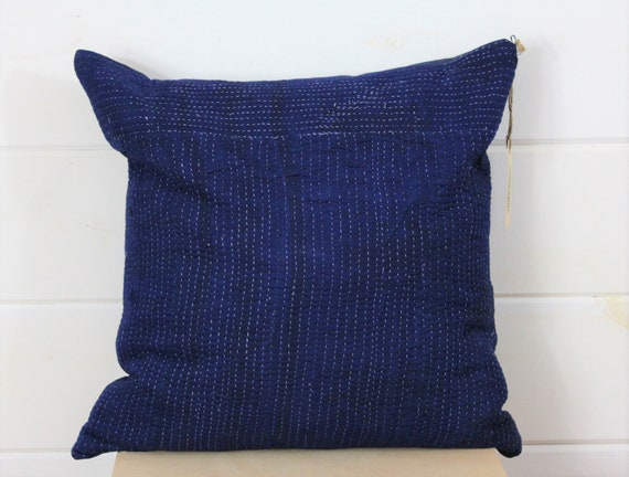 Kantha Quilted Pillow Cover