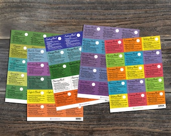Essential Oil Sample Cards