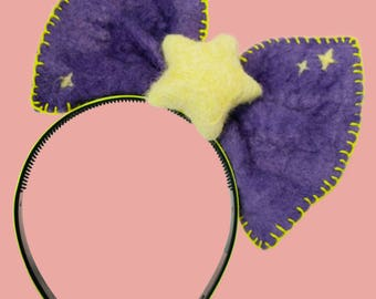 lumpy space princess-inspired star bow