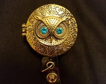 Owl Photo Badge Holder