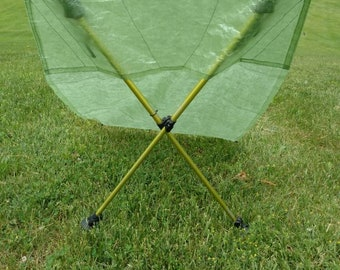 Ultralight Cuben Fiber / DCF  Backpacking Chair and Ground Pad