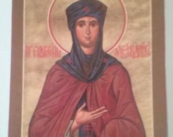 Saint Euphrosynia of Alexandria