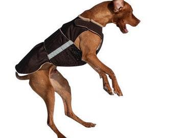 Vizsla / Pointer SoftShell Dog Coat - Custom Dog Winter Coat - Dog Coat - SoftShell / Fleece Coat - Custom made for your dog