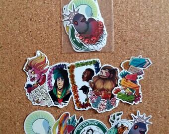 Esmé stickers