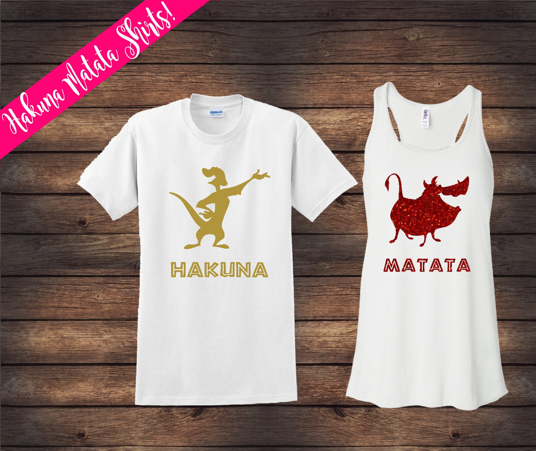 Lion King Couple Shirts Hakuna Matata Shirts Disney Couple