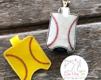 Baseball or Softball Hand Sanitizer Holder