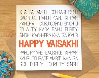 Happy Vaisakhi Card, Vaisakhi Celebrations, Sikh Festival, Punjabi, Vaisakhi Greetings, Solar New Year Celebrations, Spring Harvest, Ethnic