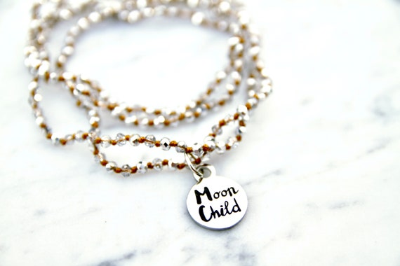 Moon Child   Moon Child Necklace   Moon Child Jewelry   Child of the Universe   Live by the Moon   Gypsy Soul   Law of Attraction