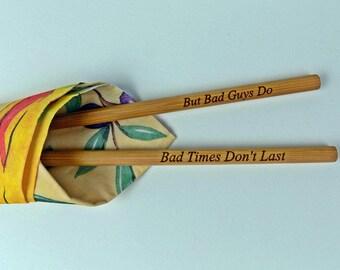 New Engraved Chopsticks, Personalized Chopsticks, Bamboo Chopstick, Wedding Favors, Rustic Chopstick, Wedding Chopsticks, Min. Order 5pair