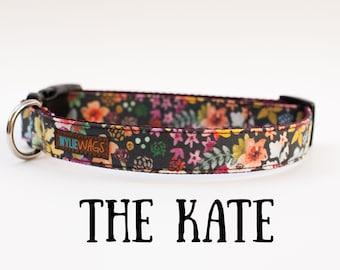 Handmade Floral Dog Collar, dog collar flower, dog collar for girls, dog collar
