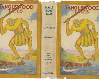 Tanglewood Tales illustrated by Fern Bisel Peat, 1930.
