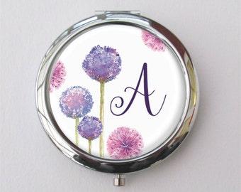 Compact Mirror, Bridesmaid Gift, Customized Purse Mirror, Mirror Set