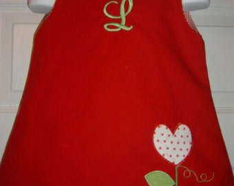 Valentines Dress Size 6mo to 5T