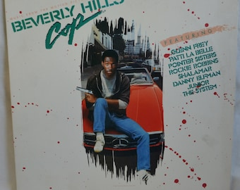 Vintage Beverly Hills Cop Motion Picture Soundtrack Record Album MCA-5553