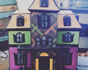 3D Paper Art - Haunted House