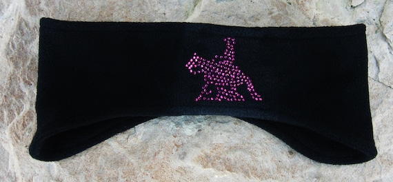 Reining Horse Fleece, Headband, Ear Warmer, Winter Wear, Womens Accessories, Skiing