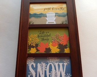 Vertical 4 Seasons Picture