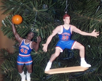 Mark Price or Brad Daugherty Shawn Kemp Ron Harper Cleveland Cavaliers basketball christmas sports ornament