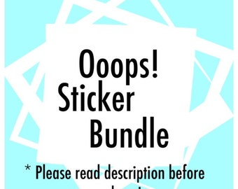 Ooops! Sticker Bundle