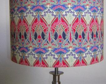 Handmade Lightshade - Liberty Fabric - Ianthe Red