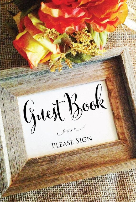 Wedding Guest Book Sign Guest Book Ideas Guest Book wedding