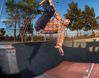 Lance Mountain 80s Skateboarding Photo 18 x 24 Inch Print - J Grant Brittain Skateboarding Photo