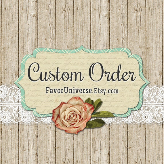Choose this seed packet with burlap and lace design for your personalized wedding favors  We are your ONE STOP SHOP for AFFORDABLE QUALITY CUSTOM FAVORS ! We ha