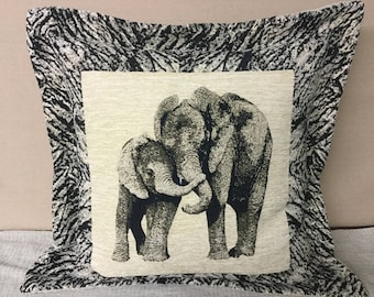 Chenille Large Floor Pillows Animal Prints