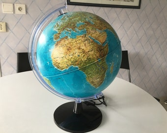 Vintage bright world globe Tecnodidattica