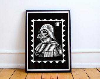 Star Wars Darth Vader Print
