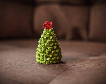 Christmas tree amigurumi