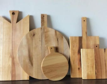 NEW Breadboards Handmade Recalimed Rustic Wooden Farmhouse Style Bread Boards - Cutting Boards - Home and Kitchen Decor
